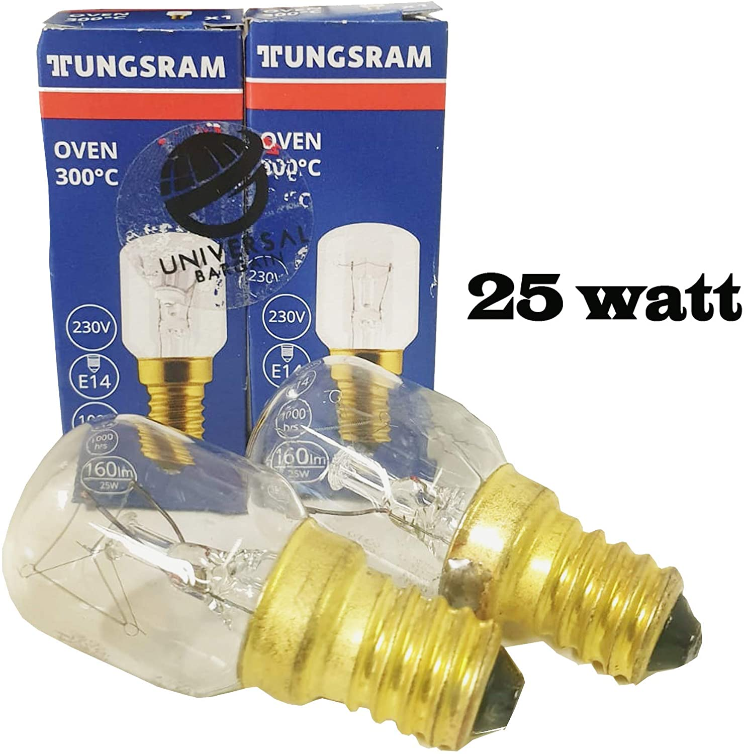 GE by Universal Bargain 25w SES E14 Small Screw Cap Pygmy Lamps